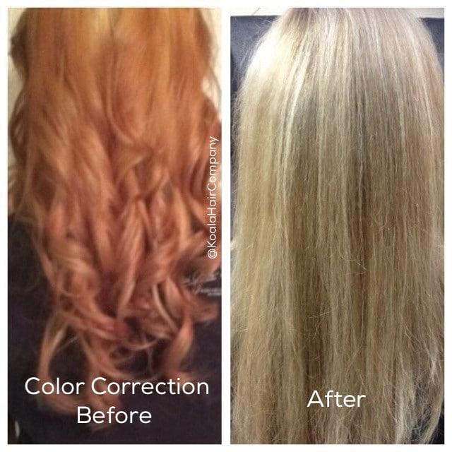 Hair Color Correction