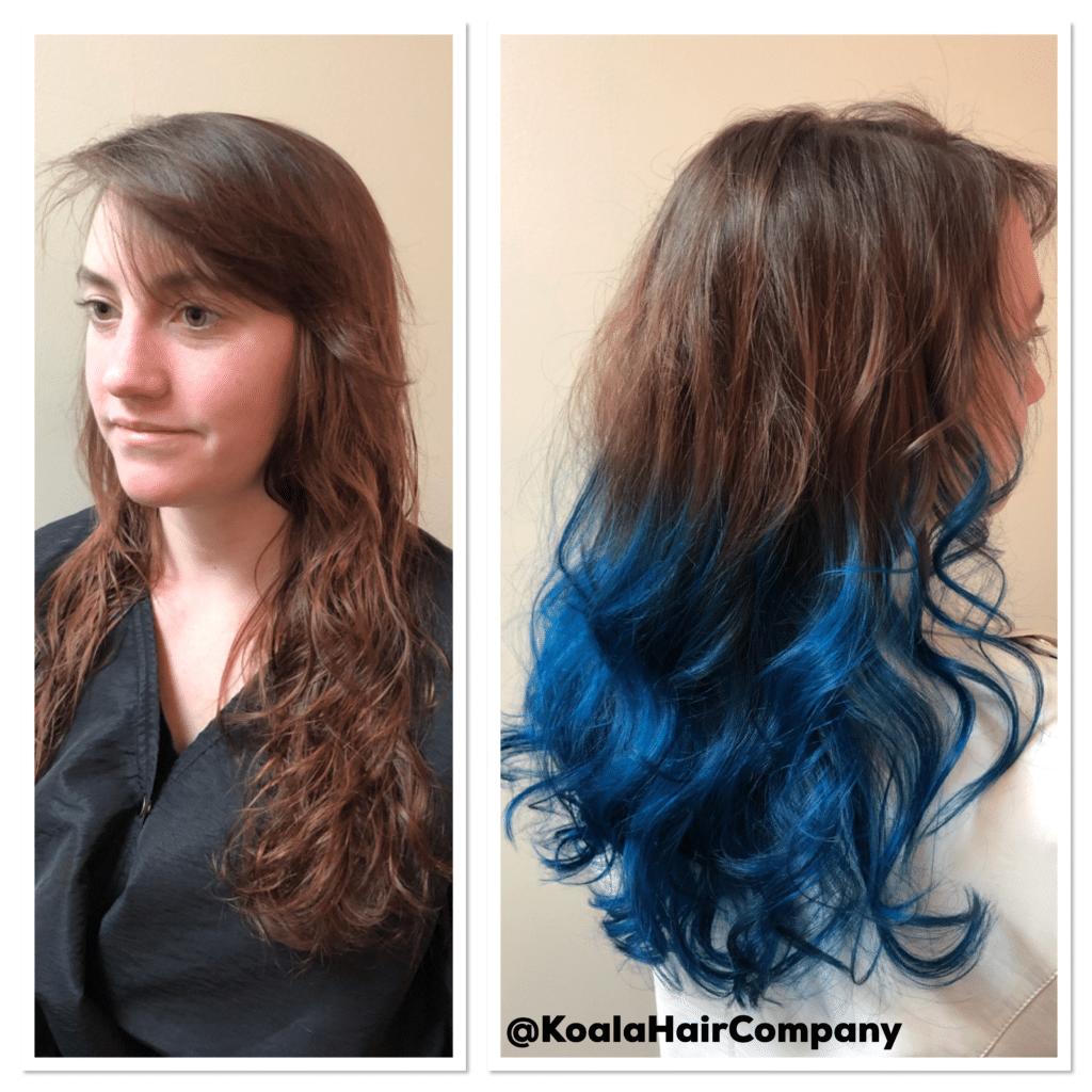 Balayage - Cobalt Blue